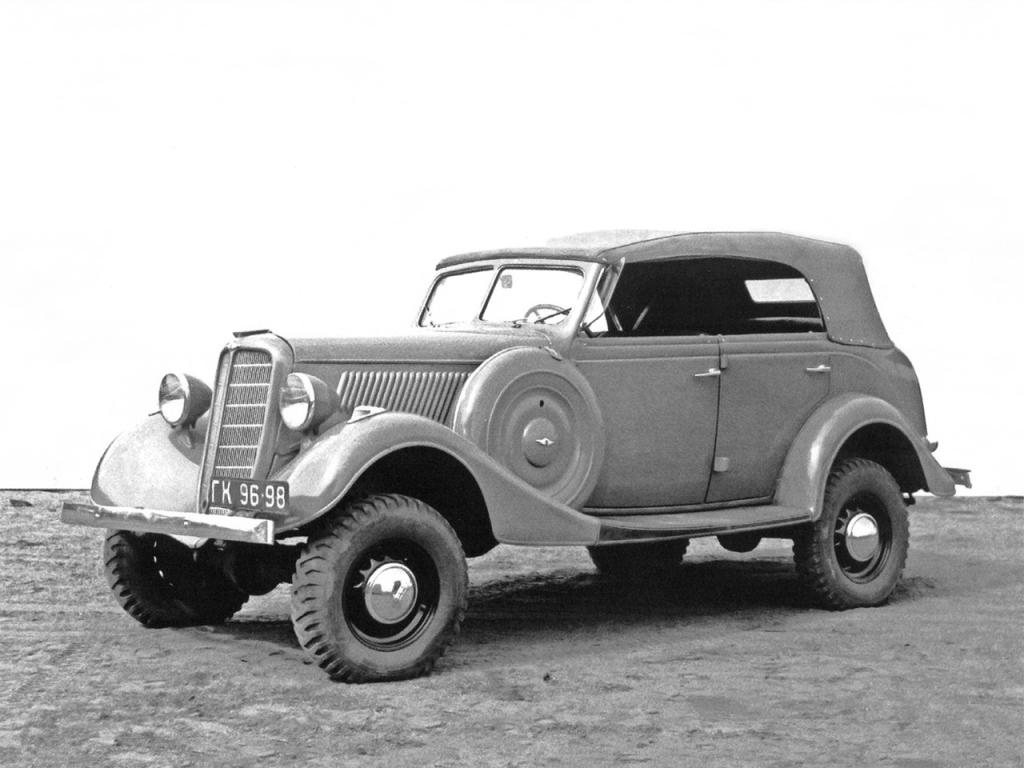 автомобили Великой Отечественной войны - ГАЗ-61