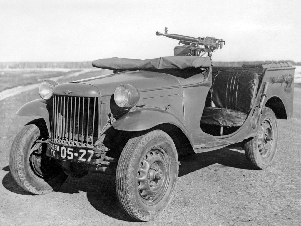 автомобили Великой Отечественной войны - ГАЗ-64