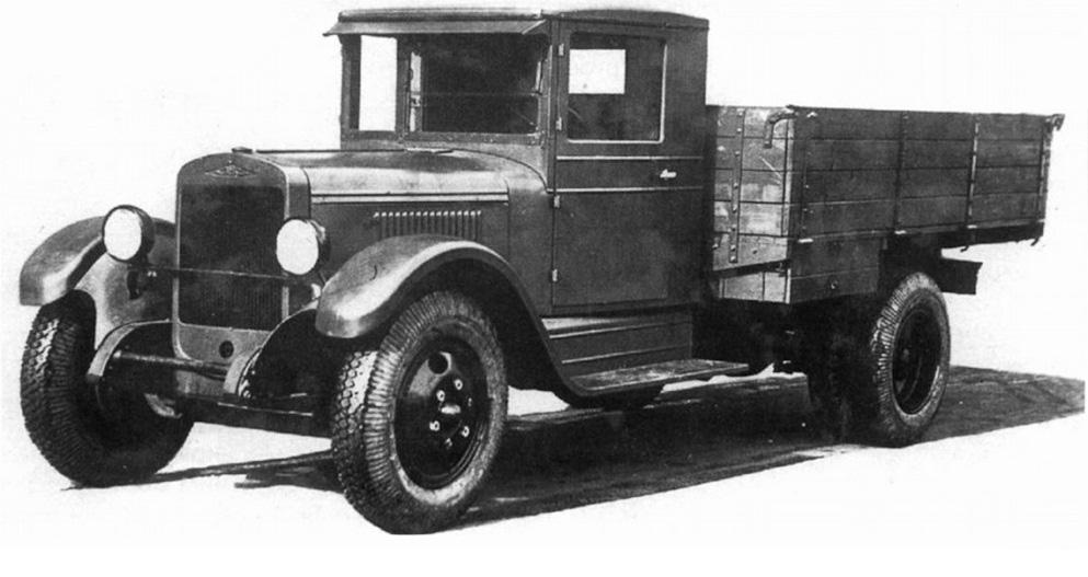 автомобили Великой Отечественной войны - ЗИС-5