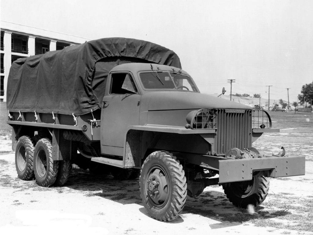 автомобили Великой Отечественной войны - Студебеккер US6