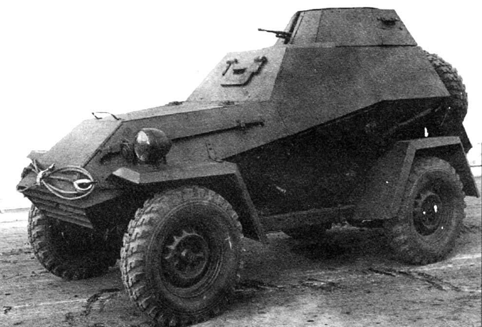 автомобили Великой Отечественной войны - БА-64