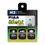 лампа PIAA BULB NIGHT TECH 3600K HE-821 (H3)