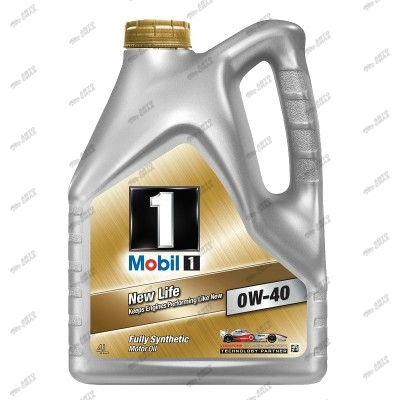 масло моторное Mobil 1 New Life 0W40  4 л